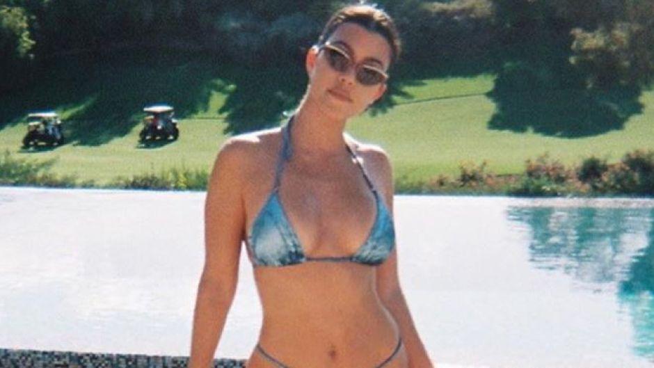 Kourtney Kardashian Disposable Photos From Palm Springs