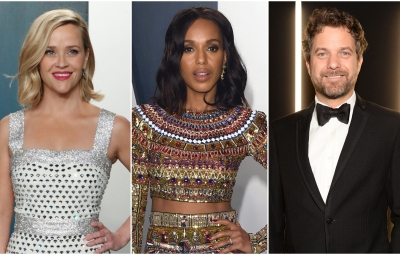 Reese Witherspoon Kerry Washington and Joshua Jackson Little Fires Everywhere Cast