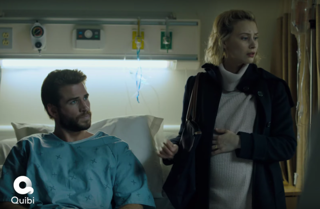 Liam Hemsworth stars in Quibi Series the Most Dangerous Game as Dodge