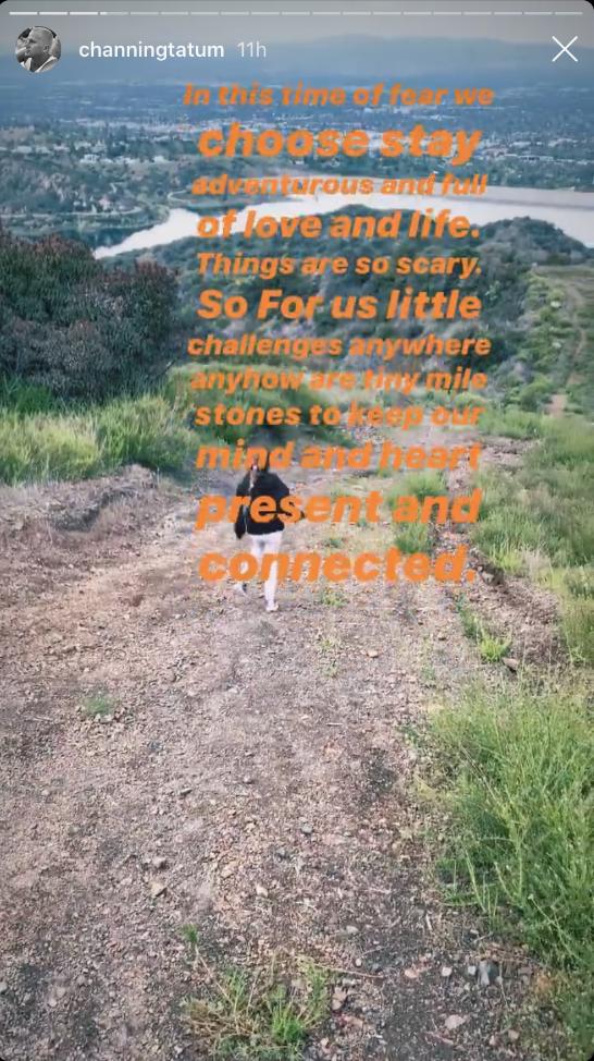 channing tatum daughter everly hike