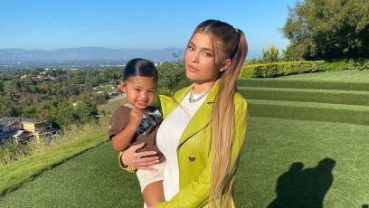 Stormi Webster and Kylie Pose Together on Scott's Birthday