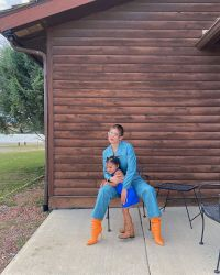 kylie jenner stormi matching cowgirl outfits