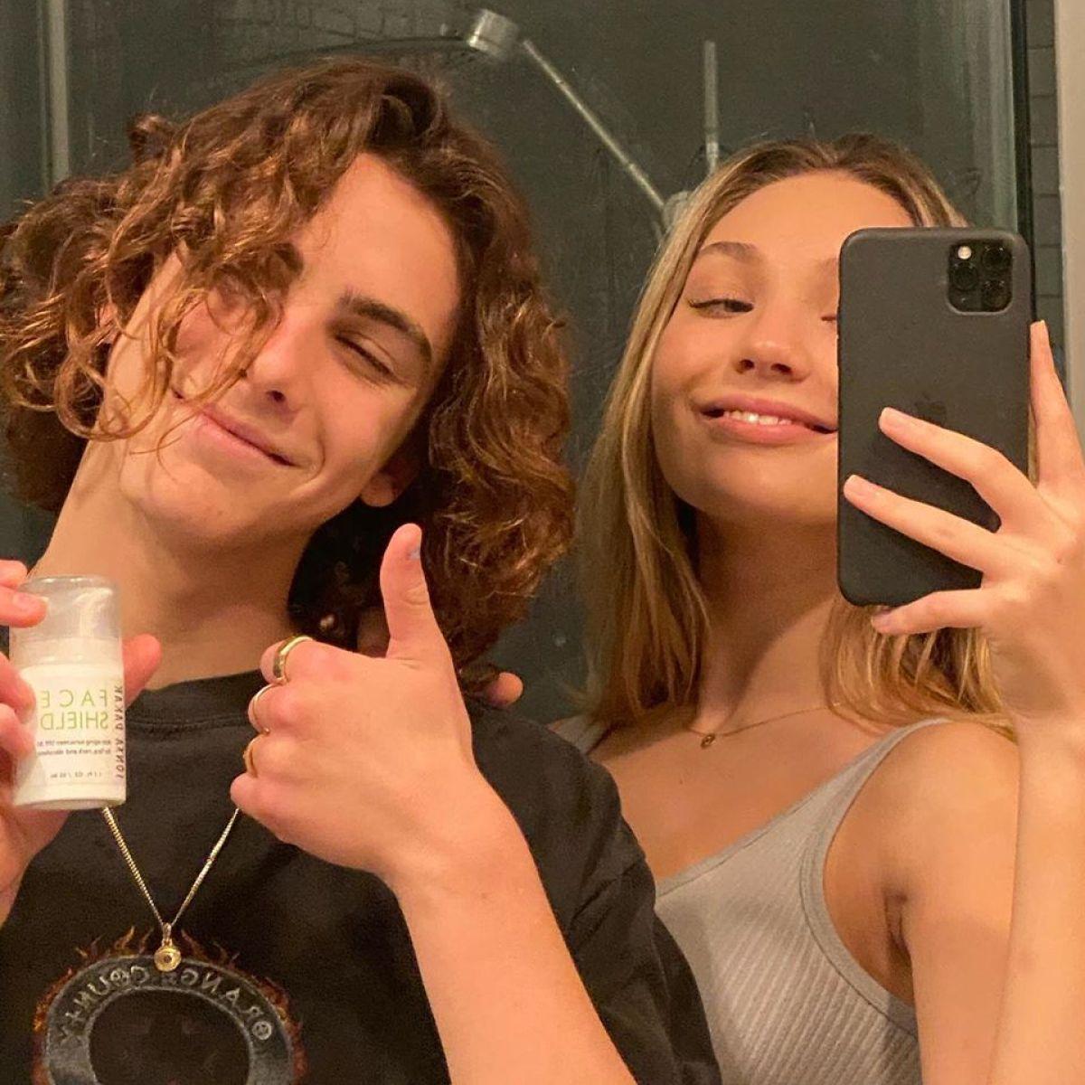 Maddie Ziegler and Boyfriend Eddie ...
