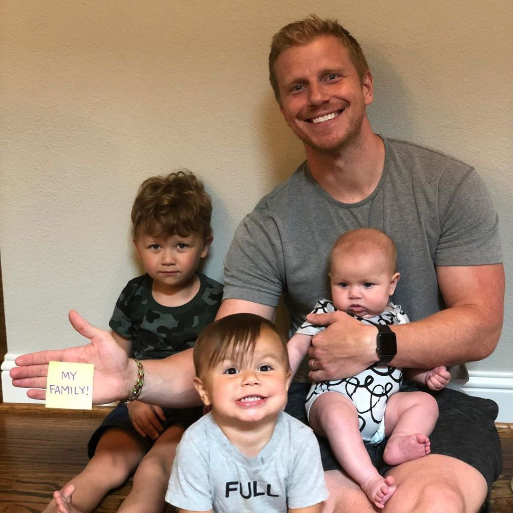Sean Lowe and Three Kids