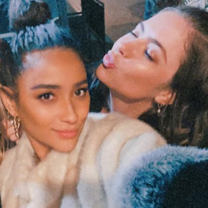 Shay Mitchell Takes Selfie With Ashley Benson and Cait Bailey During Paris Fashion Week