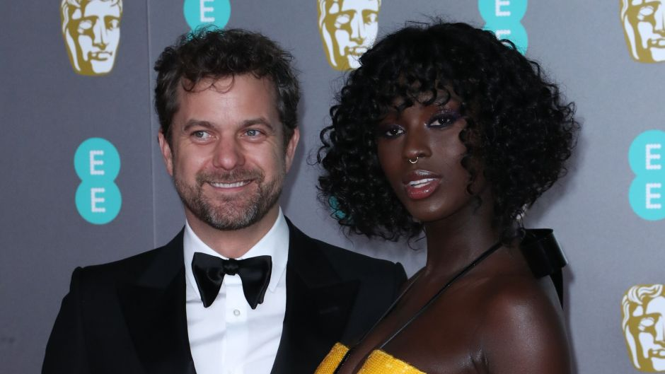 Pregnant Jodie Turner Smith Smiles in Yellow Gown With Husband Joshua Jackson in Black Tux