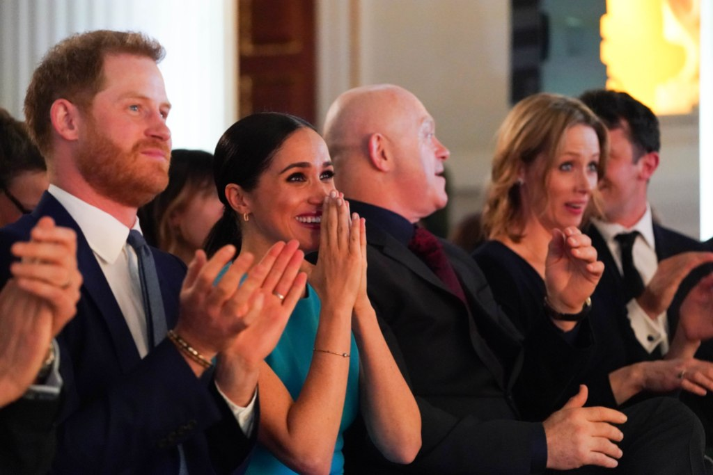 Prince Harry and Meghan Markle React to Surprise Engagement