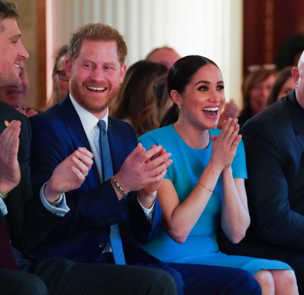 Prince Harry and Meghan Markle React to Surprise Engagement 4th Endeavour Fund Awards, Mansion House, London, UK - 05 Mar 2020