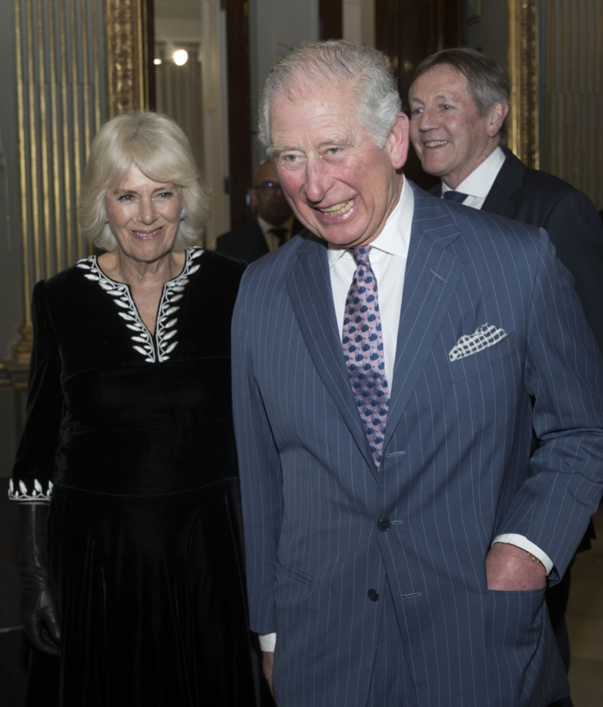 Prince Charles and Duchess of Cornwall Laugh at Outing