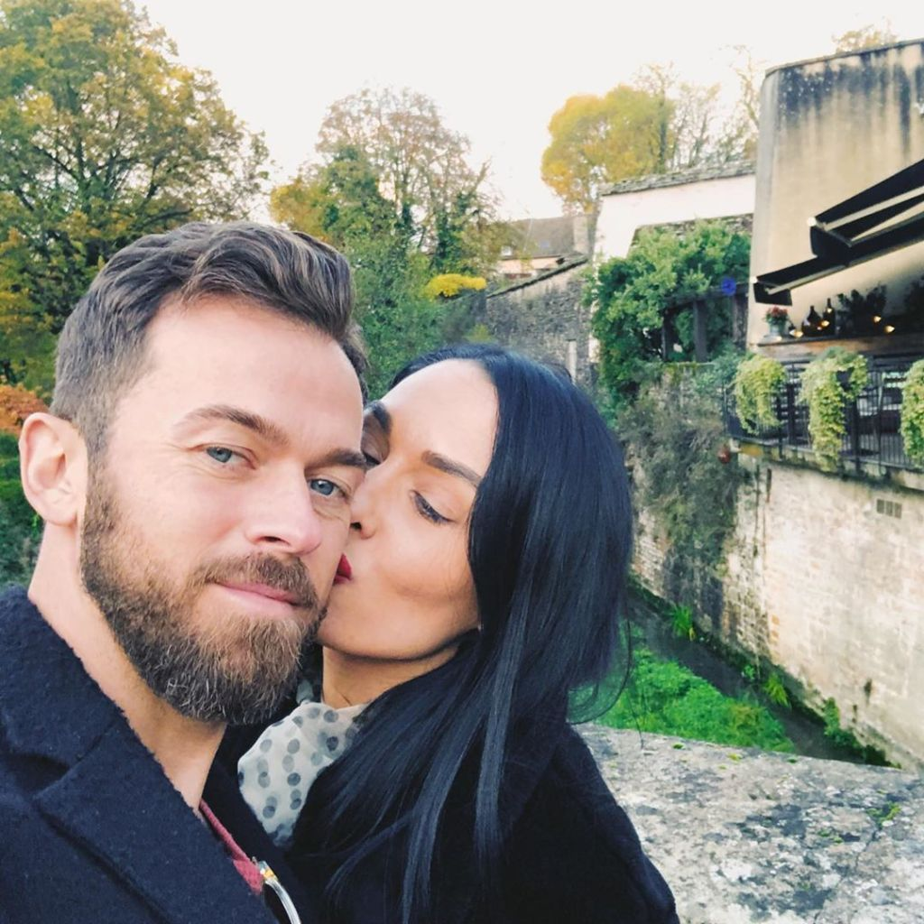Nikki Bella Cutest Moments With Artem Kissing Him in France