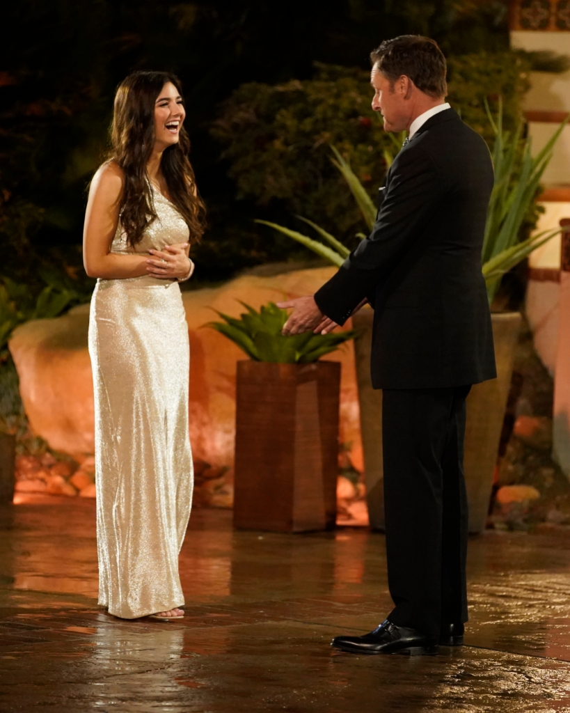 JAMIE, CHRIS HARRISON on Bachelor Listen to Your Heart