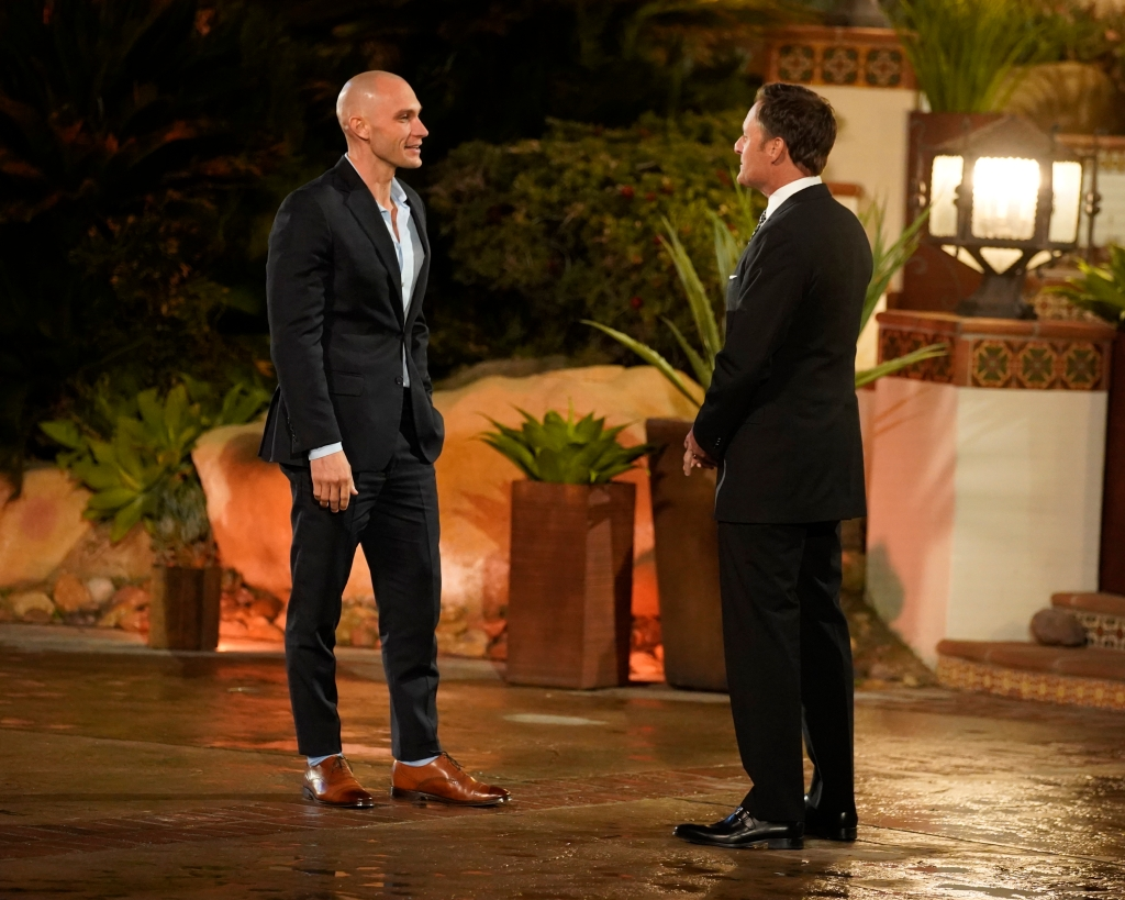 Josh Hester Talks to Chris Harrison During Bachelor Listen to Your Heart