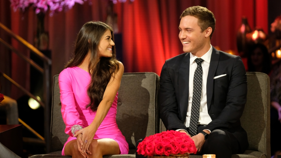 Bachelor Peter Weber Smiles at Madison Prewett During After the Final Rose