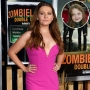 Inset Photo of Young Abigail Breslin Over Photo of Abigail Breslin Now
