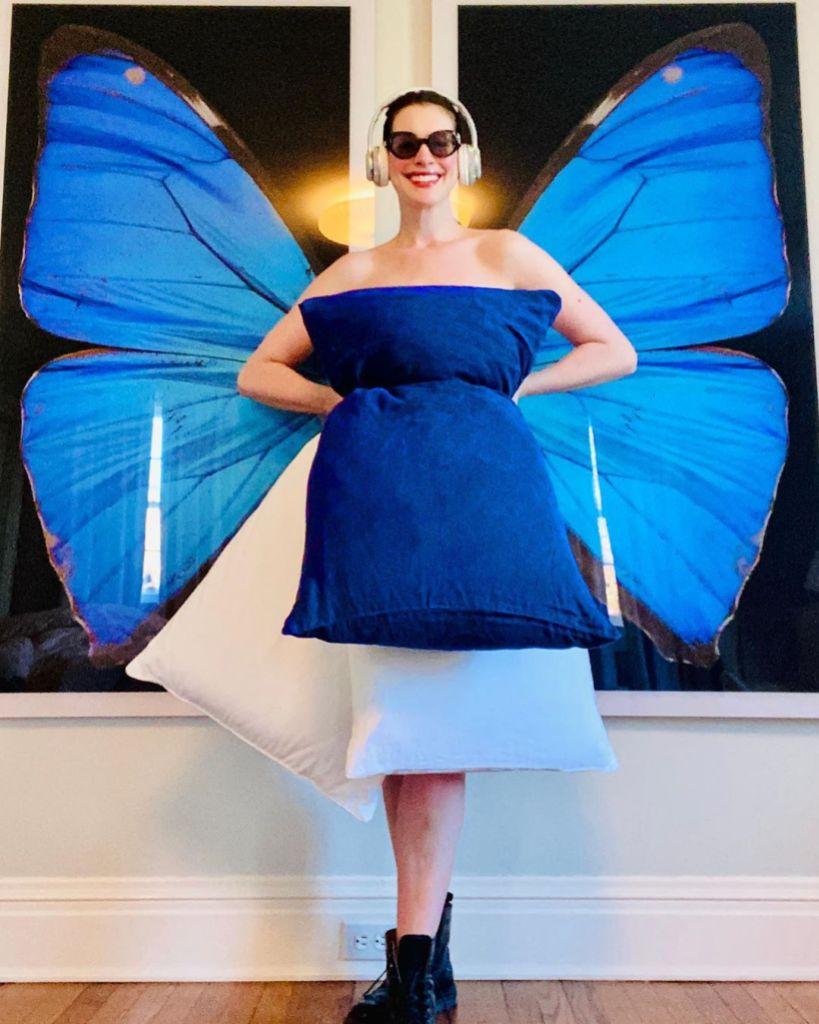 Anne Hathaway Pillow Challenge