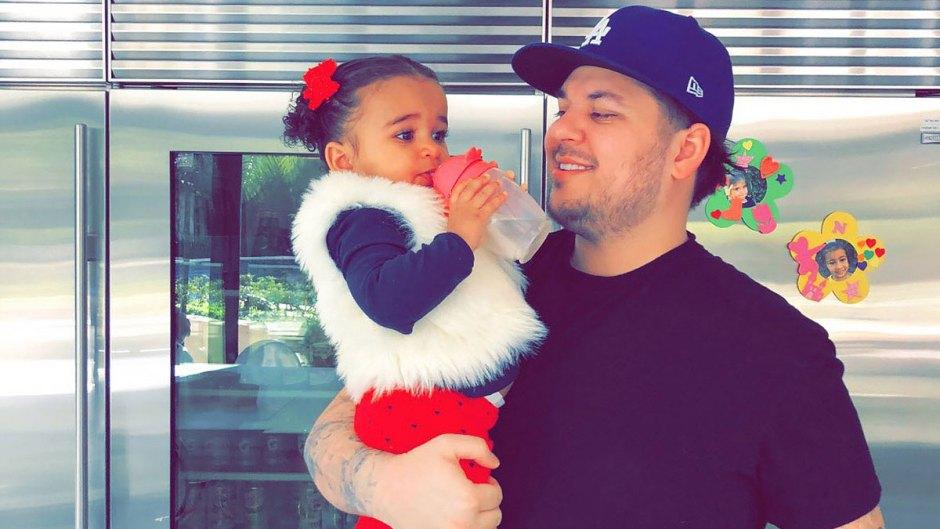 Dream Kardashian and Dad Rob Kardashian Resurfaces KUWTK