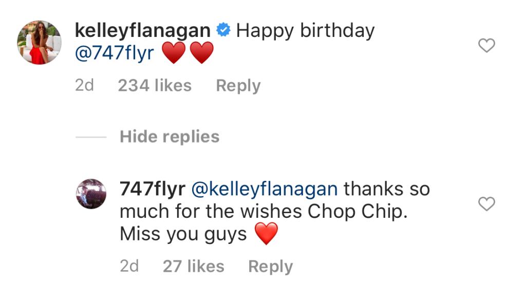 Peter Webers Dad Says Kelley Flanagans Nickname Is Chip Chop