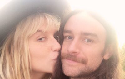 Kesha and boyfriend Brad Ashenfelter Selfie