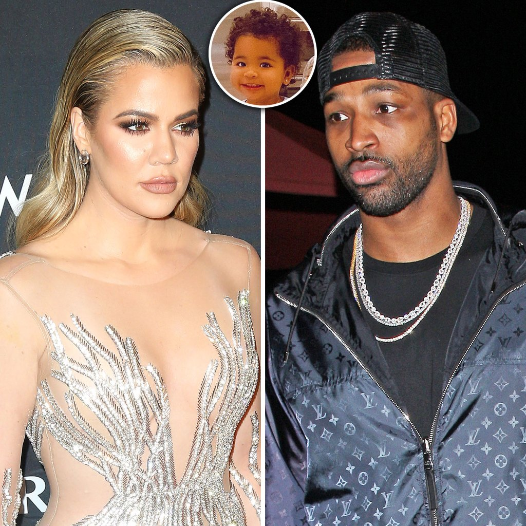 Khloe Kardashian Isnt Comfortable With Daughter True Visiting Tristan Thompson in Cleveland