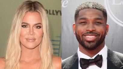Khloe Kardashian and Tristan Thompson Split Image