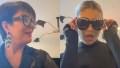 Kris Jenner and Kylie Jenner Recreate KUWTK Scene on TikTok