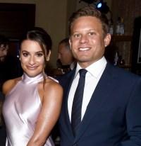 Lea Michele and Husband Zandy Reich