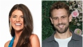 Bachelor Contestant Madison Prewett Smiles in Bachelor Headshot Nick Viall Wears Grey jacket and White Tshirt