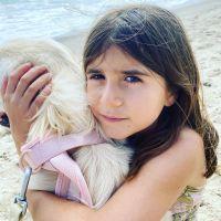 Scott Disick's Daughter Penelope Disick at the Beach