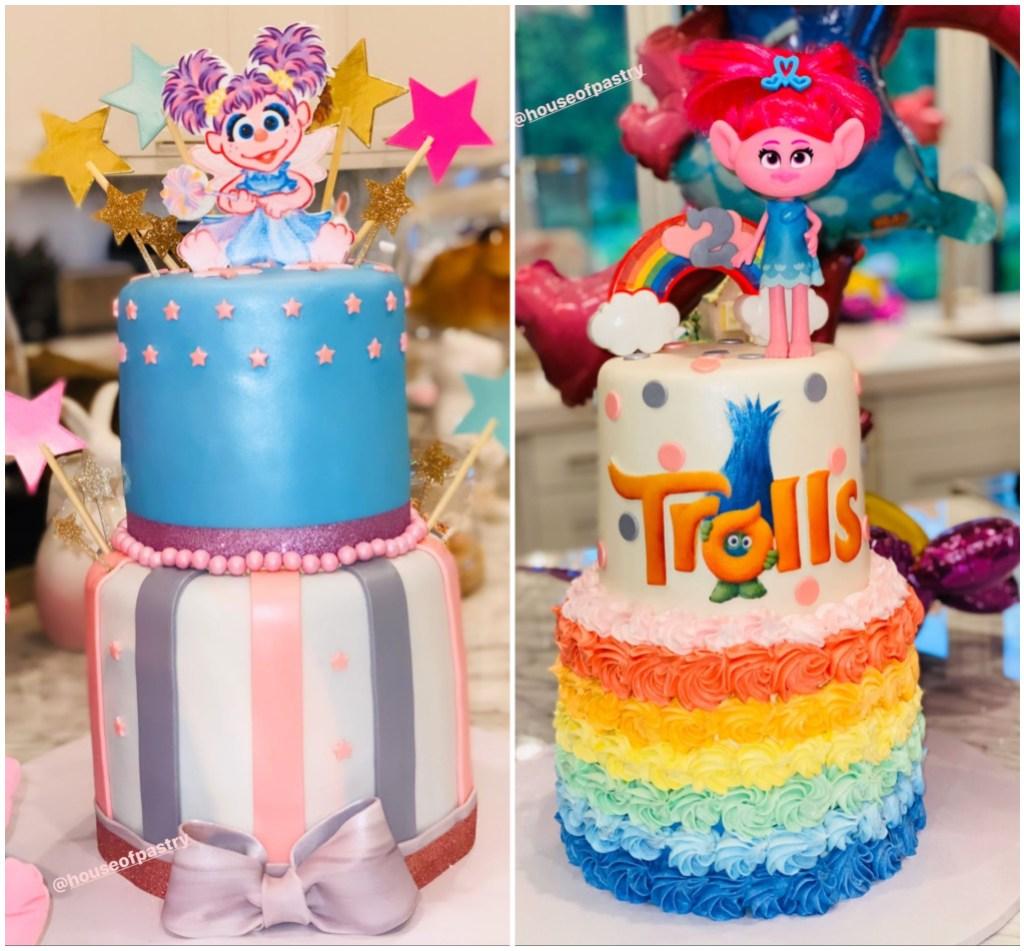 True Thompson Trolls Birthday Cakes