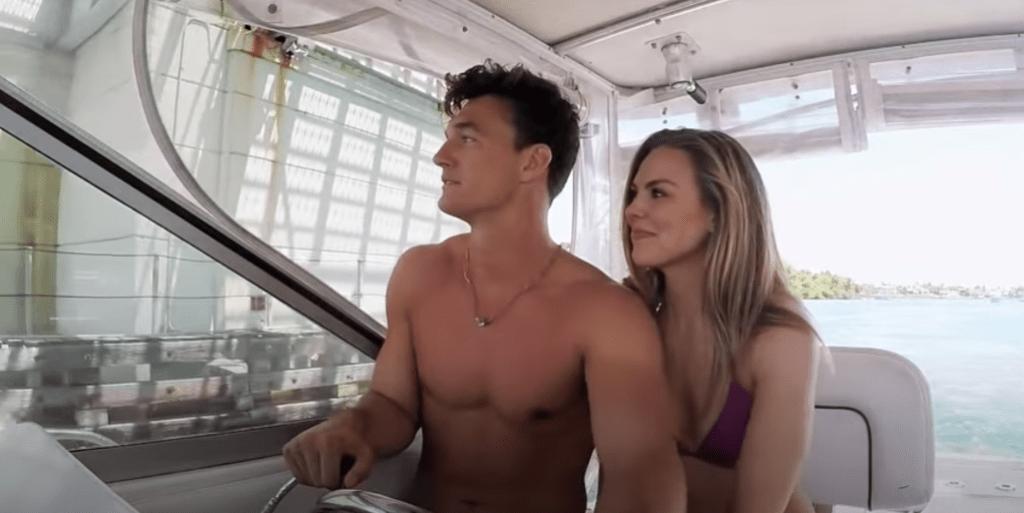 Tyler Cameron, Hannah Brown Season 23 The Bachelorette Hometown Visit