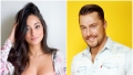 Bachelor Contestant Victoria Fuller Smiles in Flowered Top With Hair Fluffed Up Bachelor Chris Soules Smiles in Denim Shirt