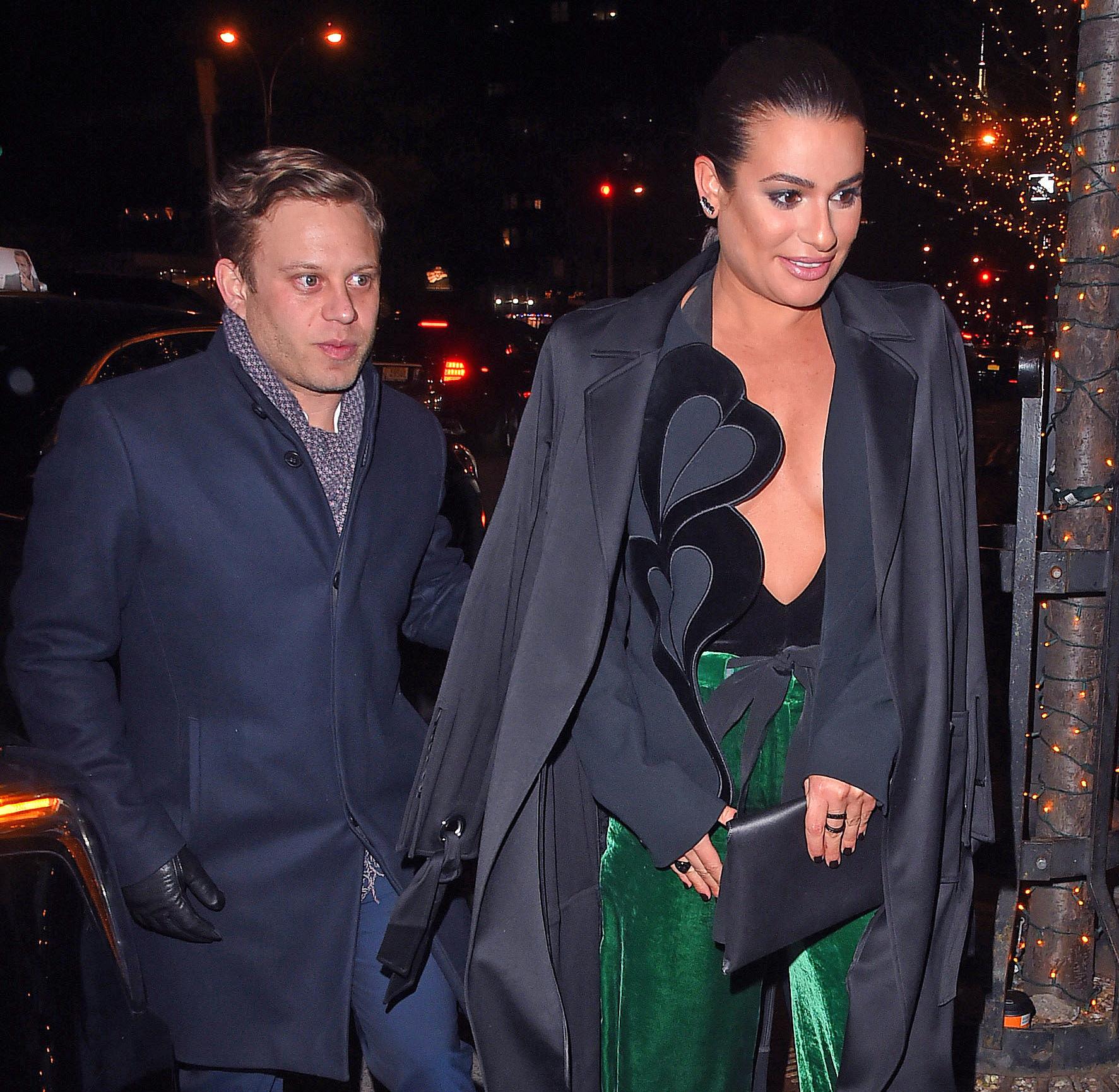 Who Is Lea Michele S Husband Zandy Reich Is A Businessman