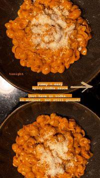 Gigi Hadid Pregnancy Craving Vodka Pasta