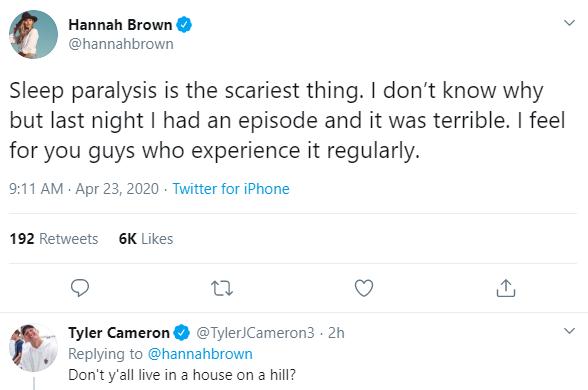 Tyler Cameron Teases Hannah Brown