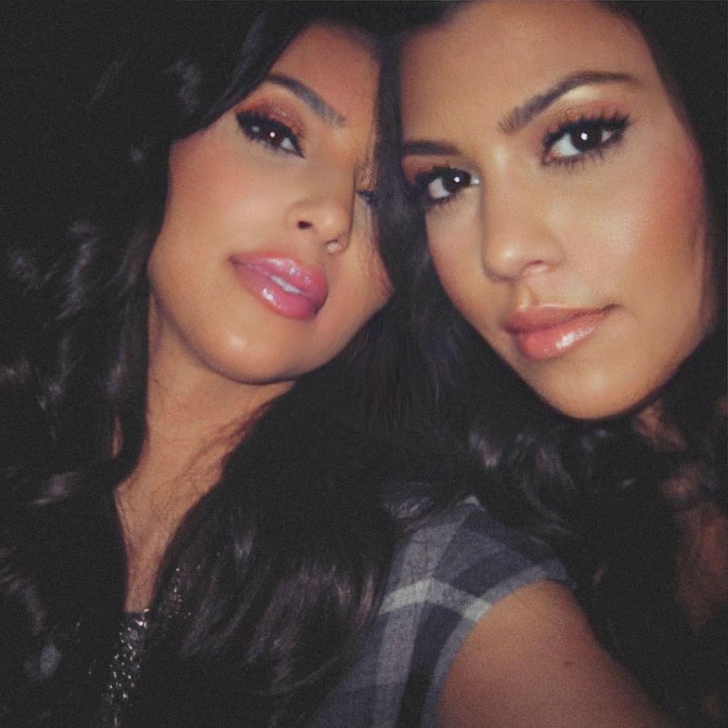 kim kardashian birthday tribute kourtney