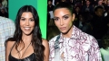 kim kardashian kourtney birthday tribute fight