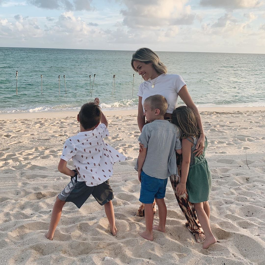 Kristin Cavallari and Three Kids Camden, Saylor and Jaxon