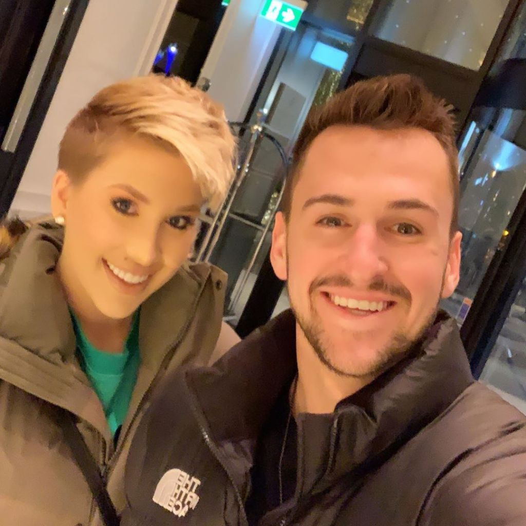 Savannah Chrisley Smiles With Fiance Nic Kerdiles in Winter Coats