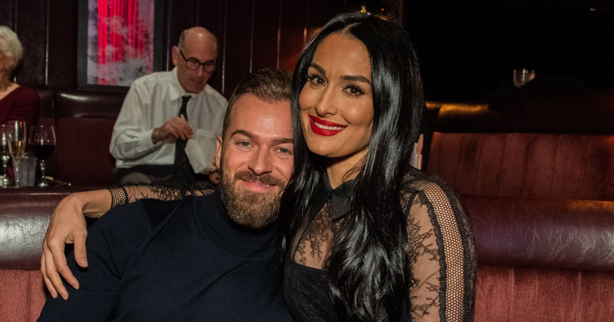Nikki Bella and Artem Chigvintsev Enjoy Romantic Date Night 'on the Couch'