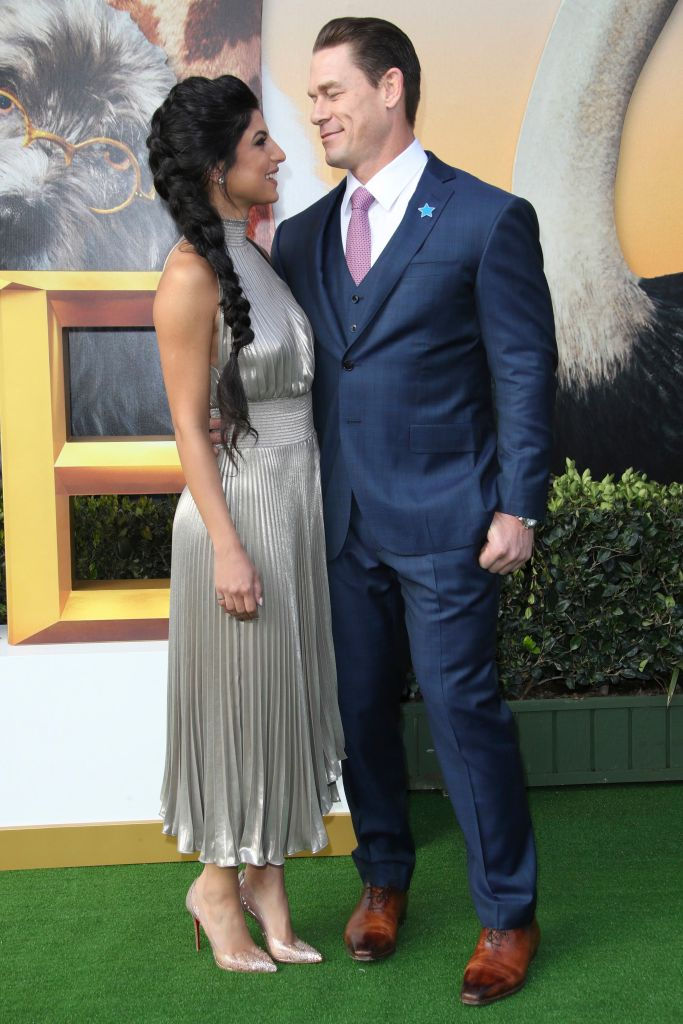John Cena and Girlfriend Shay at 'Dolittle' film premiere, Arrivals, Regency Village Theatre, Los Angeles, USA - 11 Jan 2020