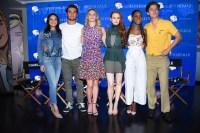 Camila Mendes, KJ Apa, Lili Reinhart, Madelaine Petsch, Ashleigh Murray and Cole Sprouse Riverdale Cast 2017