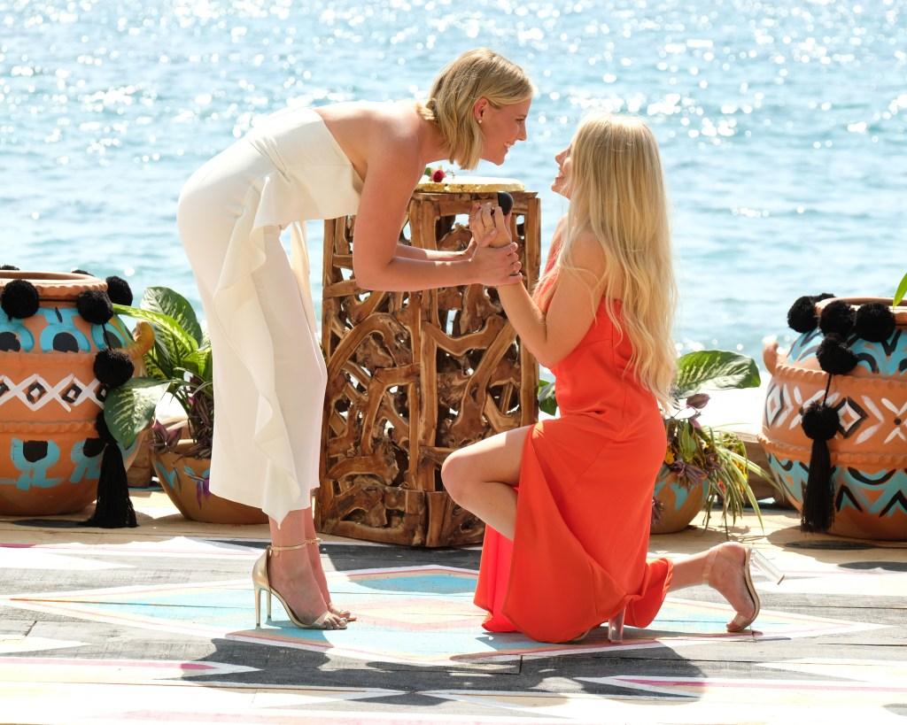 Demi Burnett and Kristian Haggerty Engagement on Bachelor in Paradise Season 6