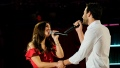 Trevor and Jamie Hold Hands and Sing on Stage During The Bachelor Listen to Your Heart
