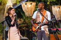 BRI STAUSS, CHRIS WATSON Perform on Clare Crawley and Dale Moss One on One Bachelorette Date