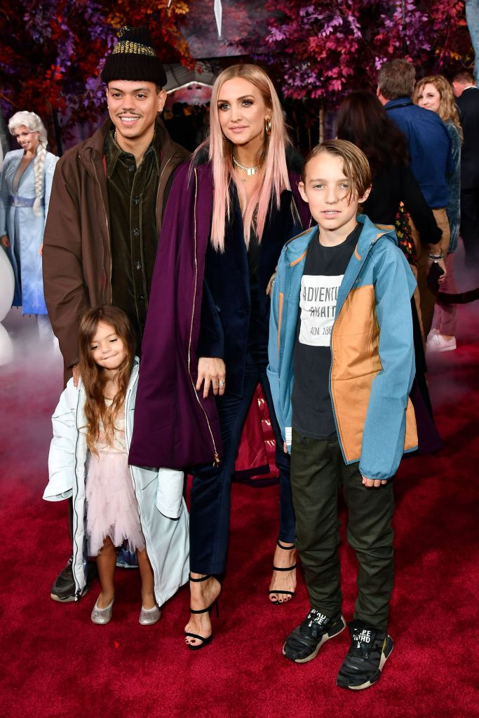 Ashlee Simpson Family Photos