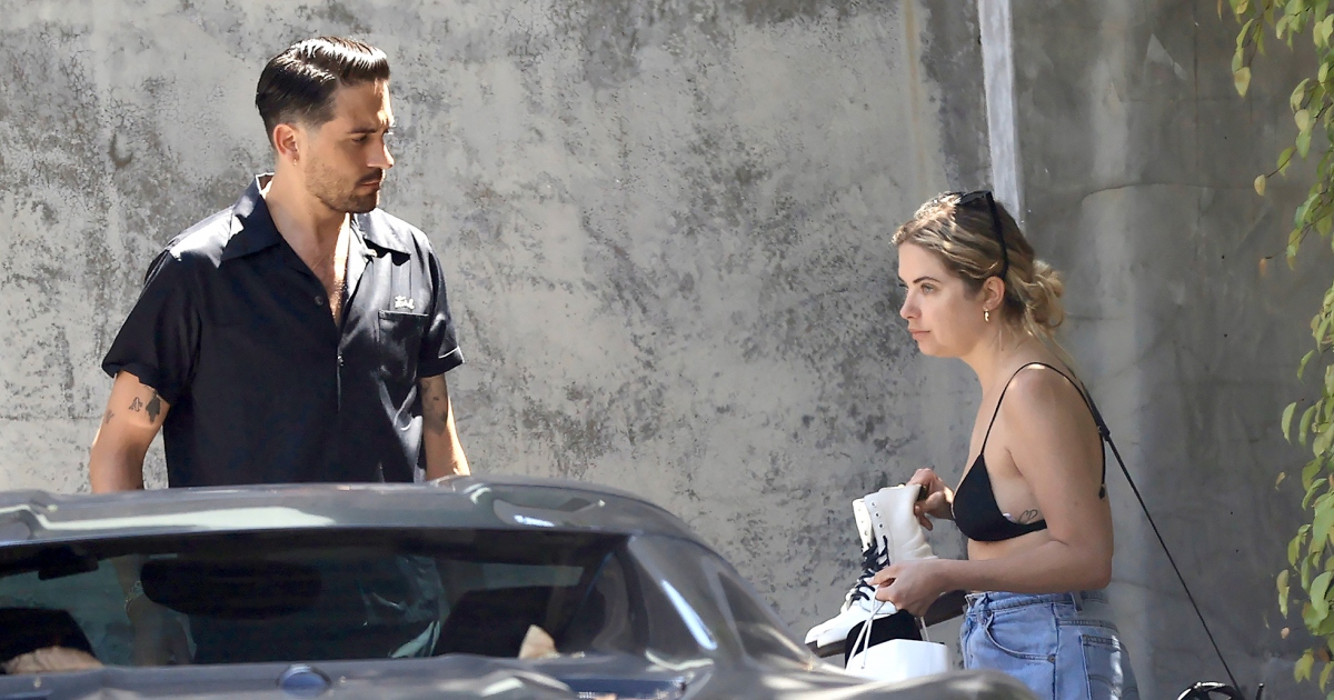 Ashley Benson and G-Eazy Got Cozy on MDW After Cara Delevingne Split