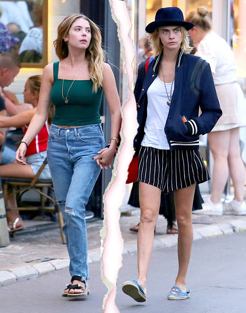 Cara Delevingne Ashley Benson Split After 2 Years Dating