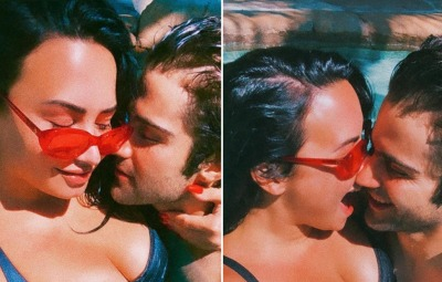 Demi Lovato and BF Max Ehrich