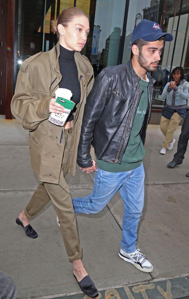 Gigi Hadid Zayn Malik Hold Hands in New York City Photos