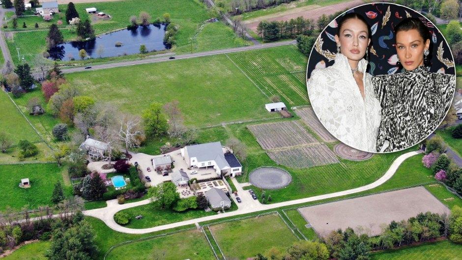 Gigi-Hadid-and-Sister-Bella-Hadid-Pennsylvania-Farm